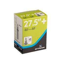 Fahrradschlauch 27,5 x 2,5/3 Presta-Ventil 48 mm