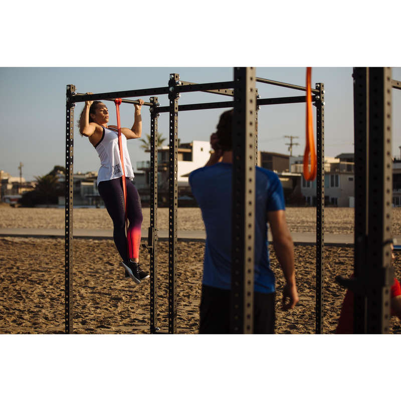 ZÁVAŽÍ NA KRUHOVÝ TRÉNINK Fitness - POSILOVACÍ GUMA 45 KG DOMYOS - Příslušenství na cvičení a pilates