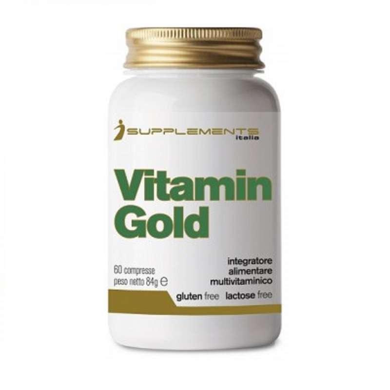 IDRATAZIONE E PRE SPORT Alimentazione - Vitamin gold isupplemets 60cpr ISUPPLEMENTS - Alimentazione