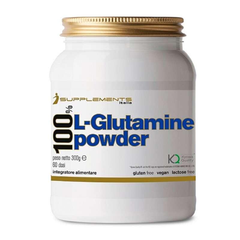 PROTEINE E COMPLEMENTI ALIMENTARI Alimentazione - Glutammina Powder Isupplements ISUPPLEMENTS - Alimentazione