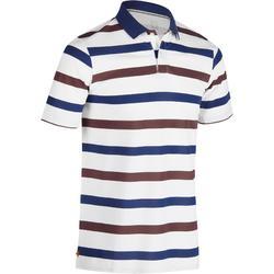 男士短袖溫暖氣候用高爾夫運動Polo衫 520 - 灰色條紋