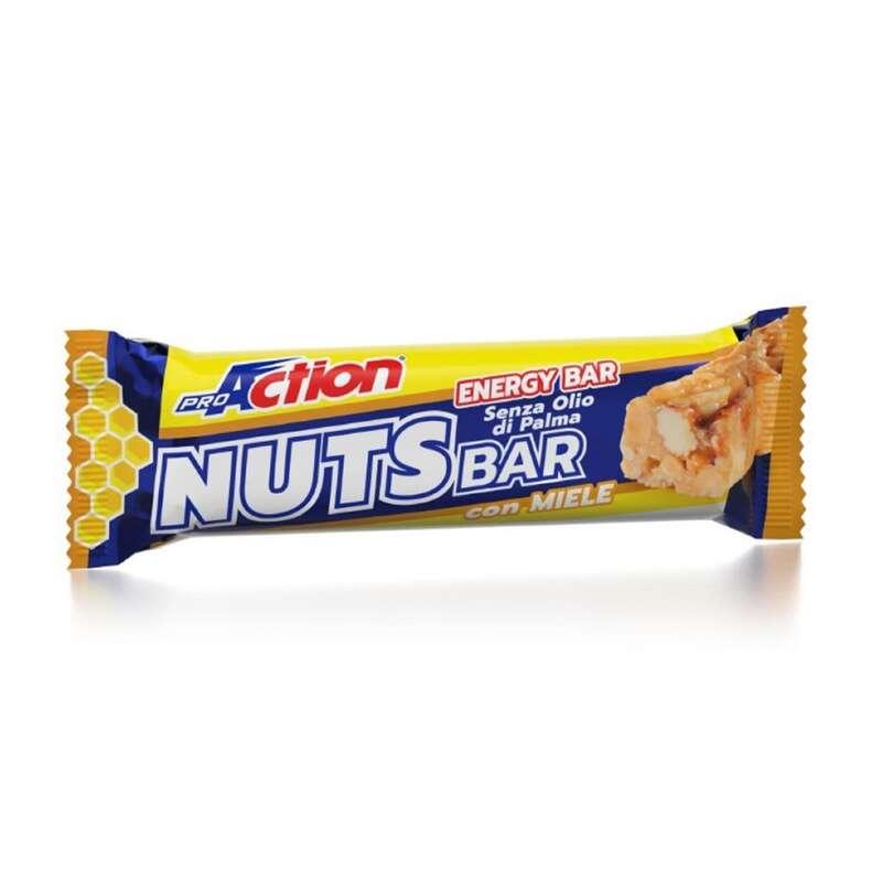 BARRETTE, GEL E RECUPERO Alimentazione - Nuts bar frutta secca e miele PROACTION - Alimentazione