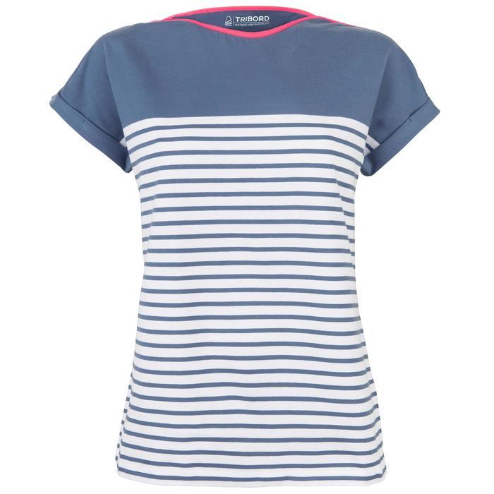 T-Shirt Manches courtes Voile aventure 100 Femme - 1319214