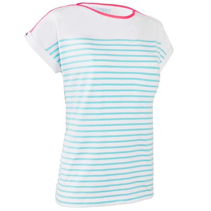 T-Shirt Manches courtes Voile aventure 100 Femme - 1319215