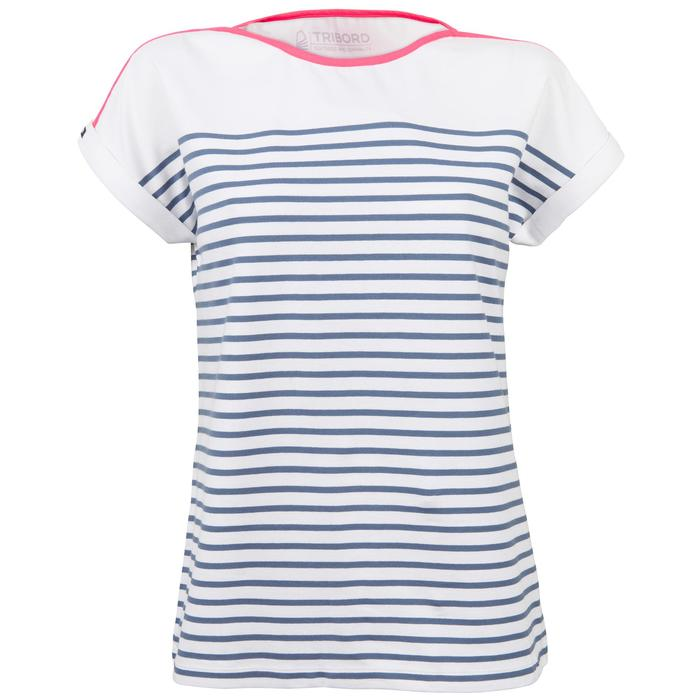 T-Shirt Manches courtes Voile aventure 100 Femme - 1319217