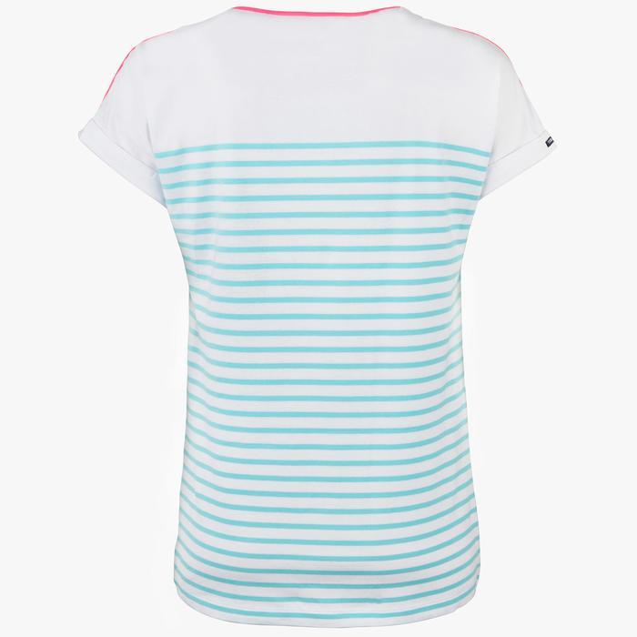 T-Shirt Manches courtes Voile aventure 100 Femme - 1319227