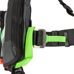 Rettungsweste Segeln automatisch aufblasbar SL180 + Gurtsystem Erwachsene