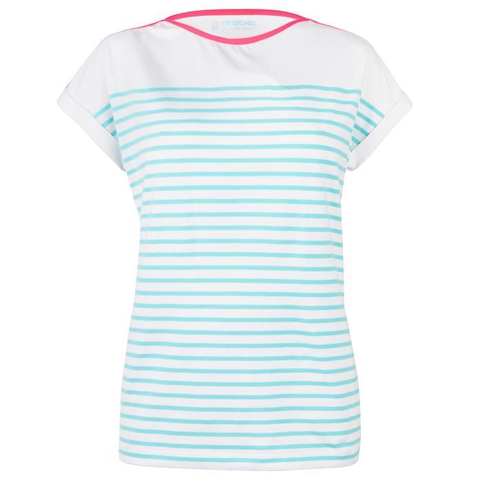 T-Shirt Manches courtes Voile aventure 100 Femme - 1319236