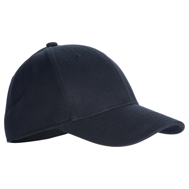 Casquette de Baseball Profil Bas Adulte BA550 - Noir