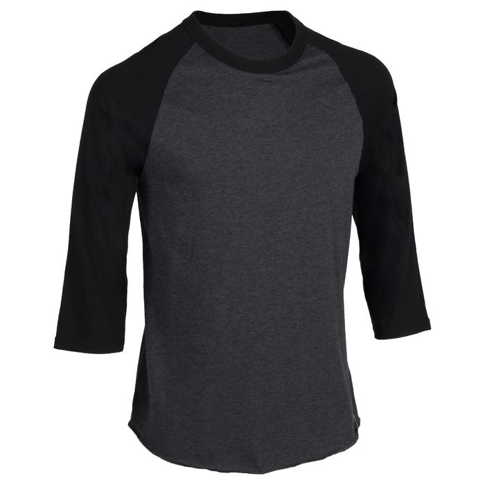 Tee shirt de baseball pour adulte 3/4 BA 550 blanc et - 1319313