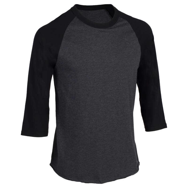 BASEBALL Imbracaminte - Bluză baseball 3/4 BA550 KIPSTA - Topuri