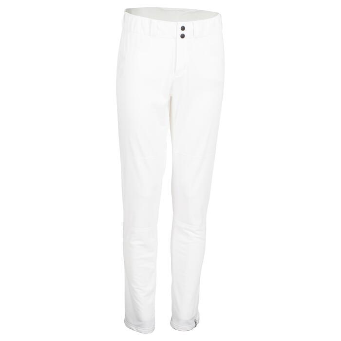 Pantalon De Baseball Pour Adulte BA 550 - Blanc