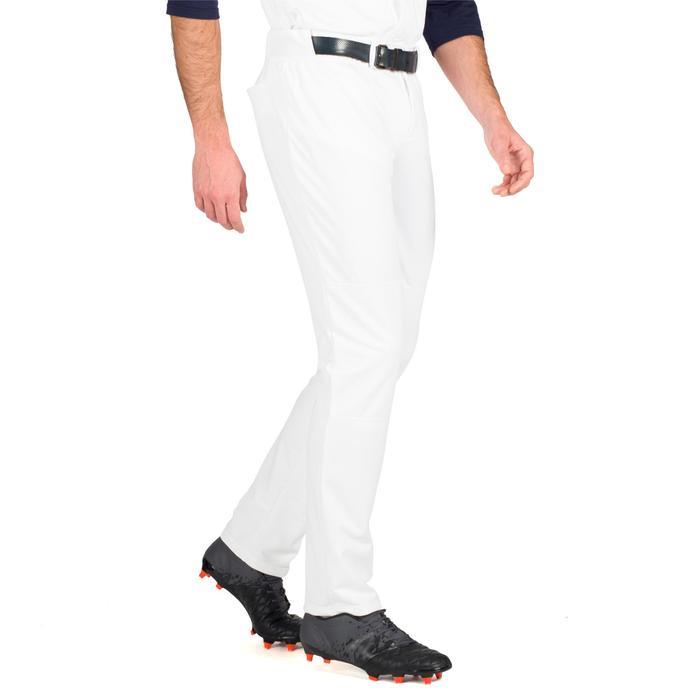 Honkbalbroek voor volwassenen BA 550 wit