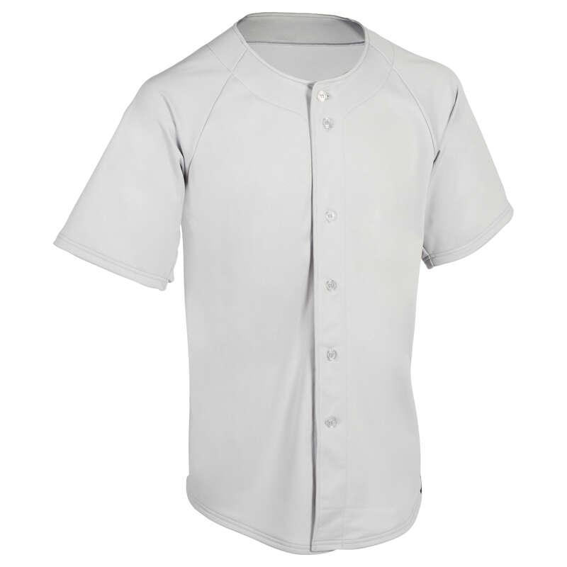 BASEBALL EQUIPMENT Baseball - BA 550 Baseball Jersey - Grey KIPSTA - Baseball