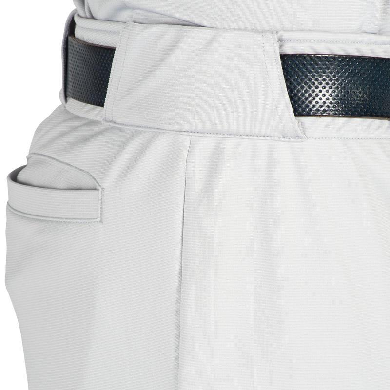 Pantalones de baseball Adulto BA550 - Grises
