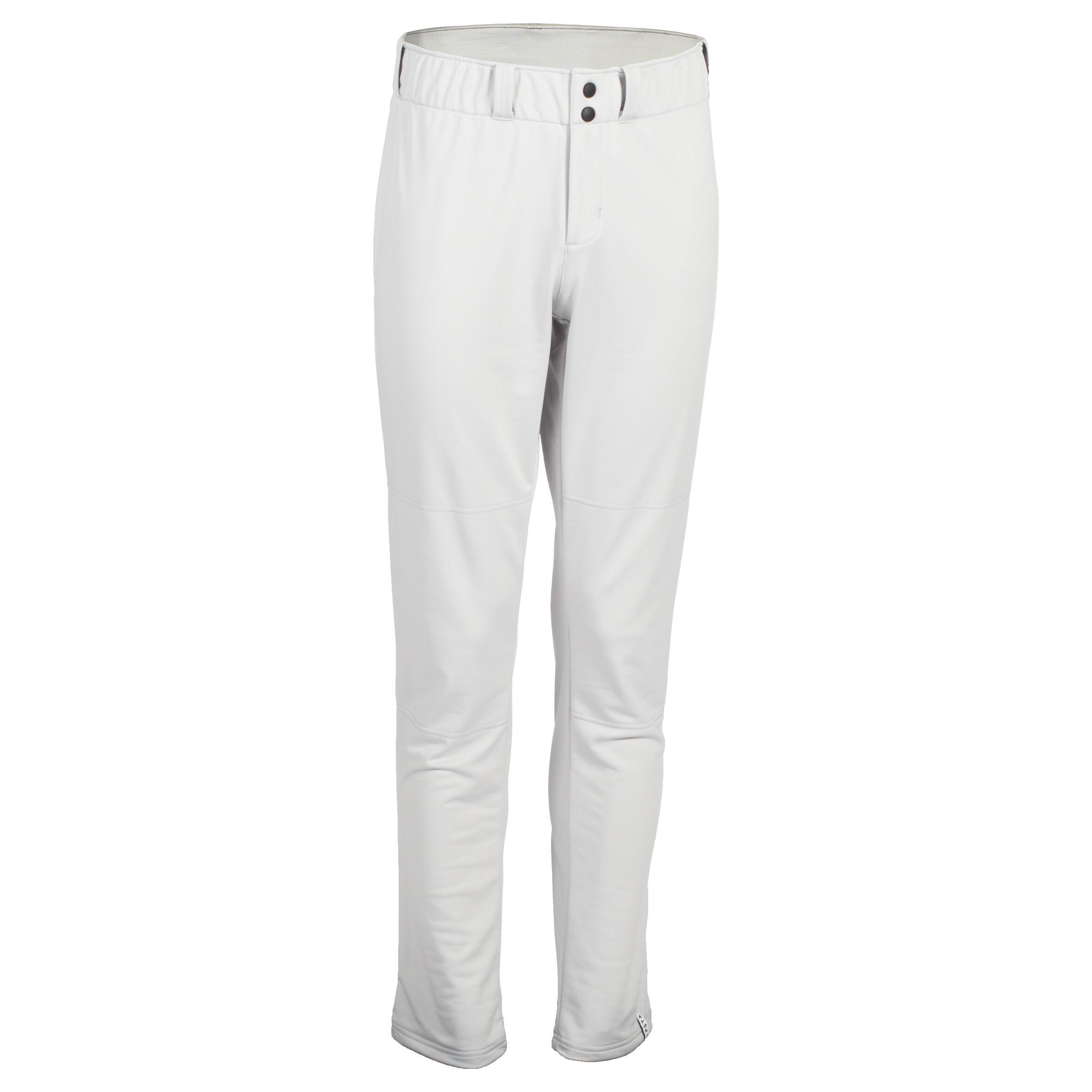 Pantalón de béisbol para adultos BA 550 gris