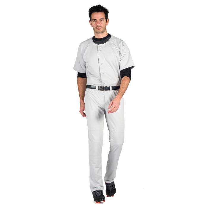 Baseballbroek volwassenen BA 550 grijs