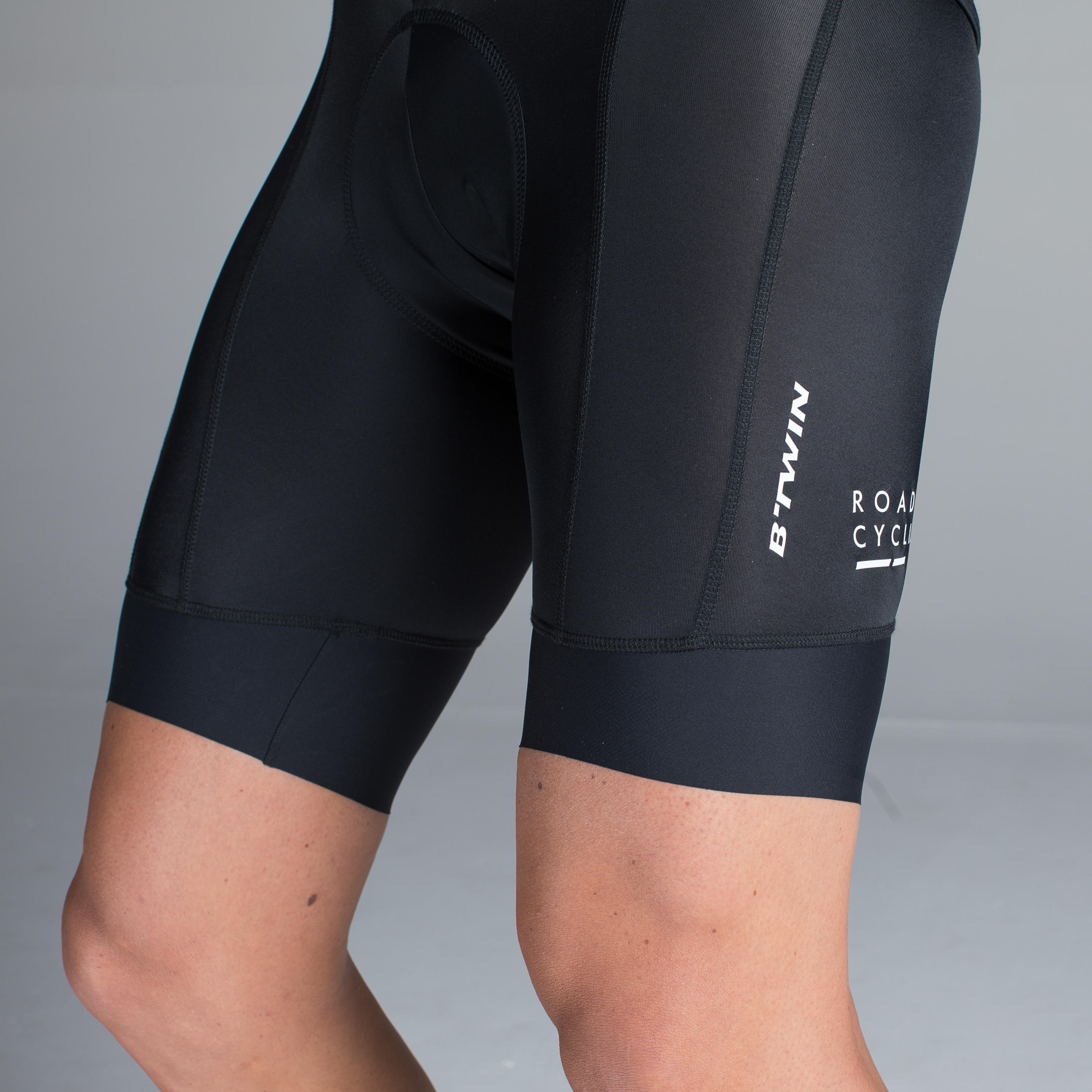 Roadcycling 900 Bibless Road Shorts - Black