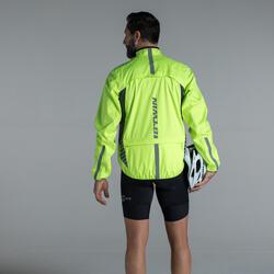 500 Jaket Tahan Hujan Untuk Road Cycling dan Bike Touring - Kuning Neon