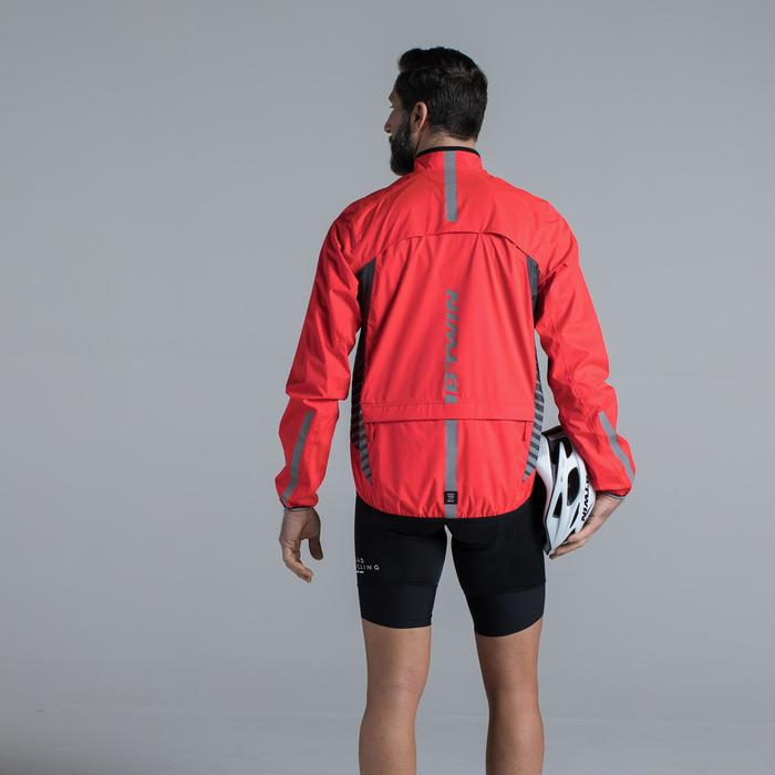 COUPE PLUIE VELO HOMME 500 FLUO SOFTLIME - 1319701