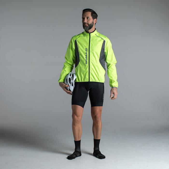 COUPE PLUIE VELO HOMME 500 FLUO SOFTLIME - 1319710
