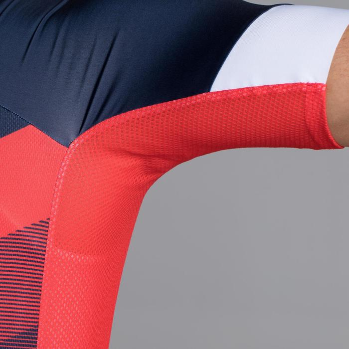 MAILLOT VELO ROUTE MANCHES COURTES HOMME ROADCYCLING 900  XRED NAVY - 1319731