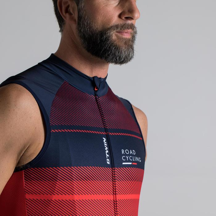 MAILLOT VELO SANS MANCHES HOMME ROADC 900 NAVY - 1319734