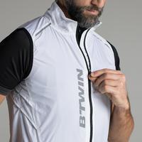 500 Ultralight Sleeveless Windproof Road Cycling Jacket