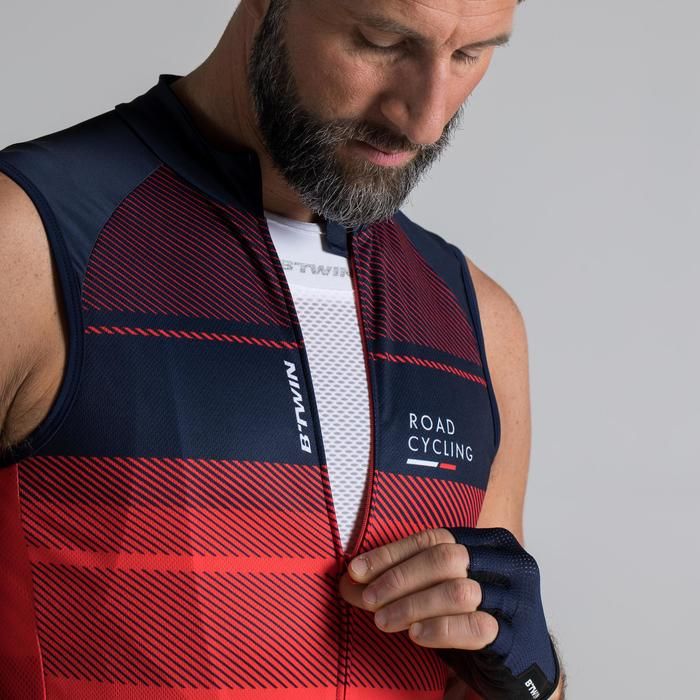 MAILLOT VELO SANS MANCHES HOMME ROADC 900 NAVY - 1319762