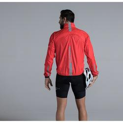 COUPE-VENT MANCHE LONGUE ULTRALIGHT VELO ROUTE ROUGE