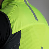 RR 500 Road Cycling Gilet - Neon Yellow