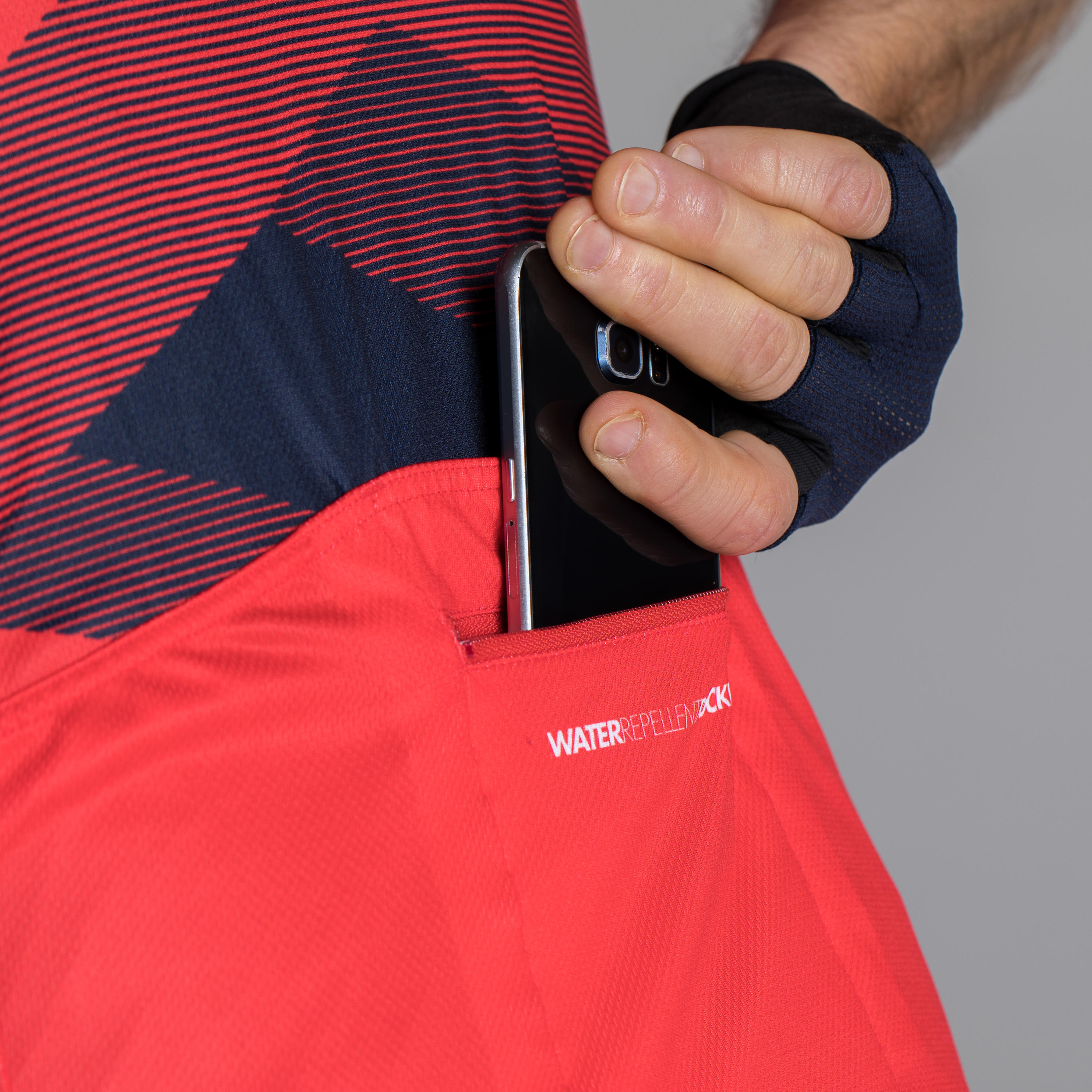 Roadcycling 900 Short-Sleeved Cycling Jersey - X Red/Navy