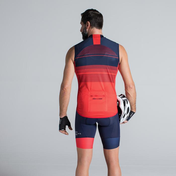 MAILLOT VELO SANS MANCHES HOMME ROADC 900 NAVY - 1319803