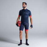 900 Cycling Shorts - Navy/Red
