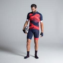 RoadCycling 900 Cycling Shorts - Navy/Red