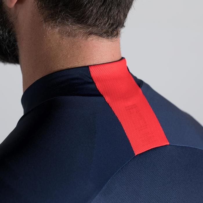 MAILLOT VELO ROUTE MANCHES COURTES HOMME ROADCYCLING 900  XRED NAVY - 1319858