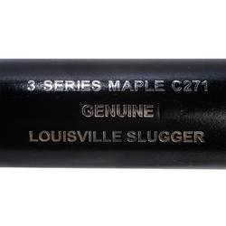 Bate Béisbol Louisville Slugger C271 32 Pulgadas Madera Negro
