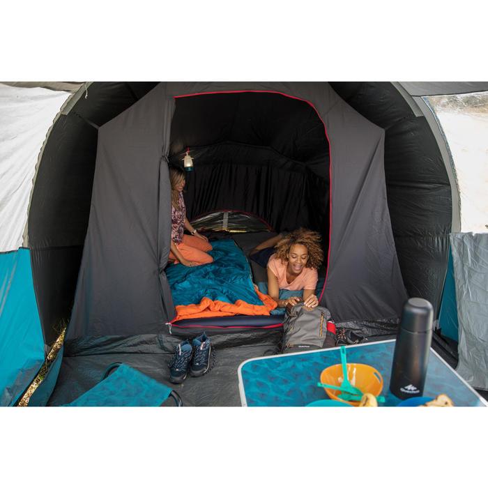 Slaapzak voor camping / bivak Arpenaz 15° blauw