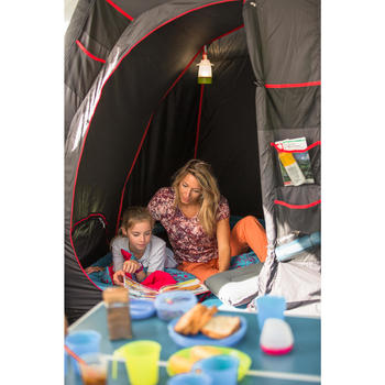 Tente de camping familiale Air seconds family 8.4 XL Fresh & Black I 8 personnes - 1319929