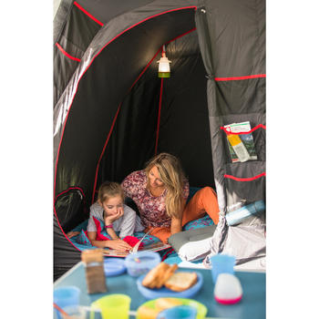 Tente de camping familiale Air seconds family 6.3 XL Fresh & Black I 6 personnes - 1319950