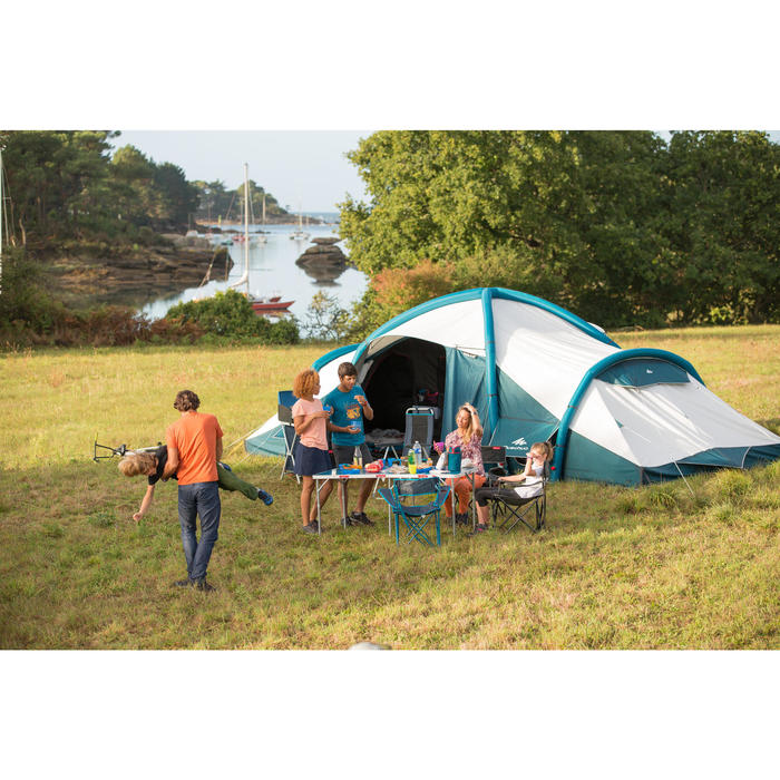 Tente de camping familiale Air seconds family 8.4 XL Fresh & Black I 8 personnes - 1319981