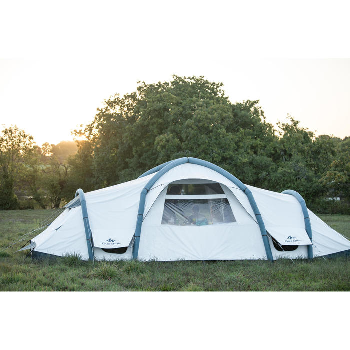 Tente de camping familiale Air seconds family 8.4 XL Fresh & Black I 8 personnes - 1319983