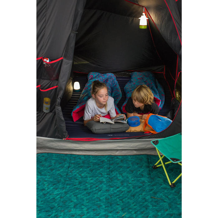 quechua matelas de camping gonflable air pump 1 personne. Black Bedroom Furniture Sets. Home Design Ideas