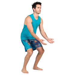 Beachvolleyball-Shirt BV500 Herren grün