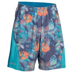 Beachvolleybal broekje BV500 heren turquoise