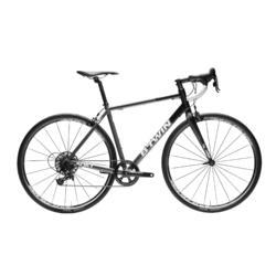 Racefiets Road Triban 540 1x11 zwart grijs