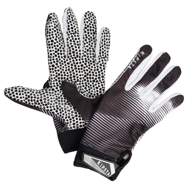 gants de football am ricain pour receveur adulte af 550 noirs et blancs decathlon martinique. Black Bedroom Furniture Sets. Home Design Ideas