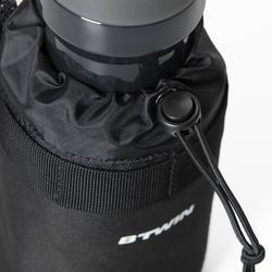 Flaschenhalter für den Fahrradlenker textil
