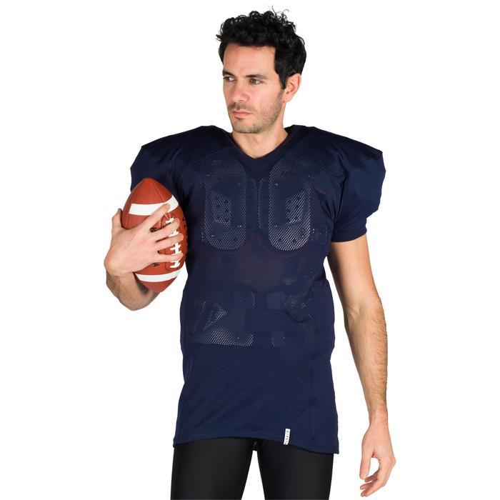 Footballtrikot AF 550 Erwachsene blau