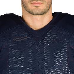 Camiseta Fútbol Americano Kipsta AF 550 Adultos Azul Marino